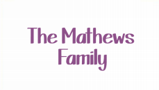 Mathews Family