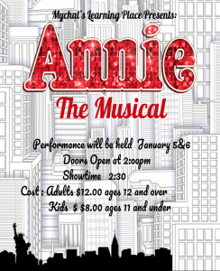 Winter Production 2018 - Annie