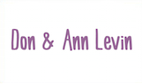 Don and Ann Levin