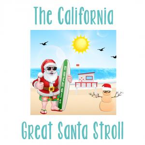 Great Beach Santa Stroll
