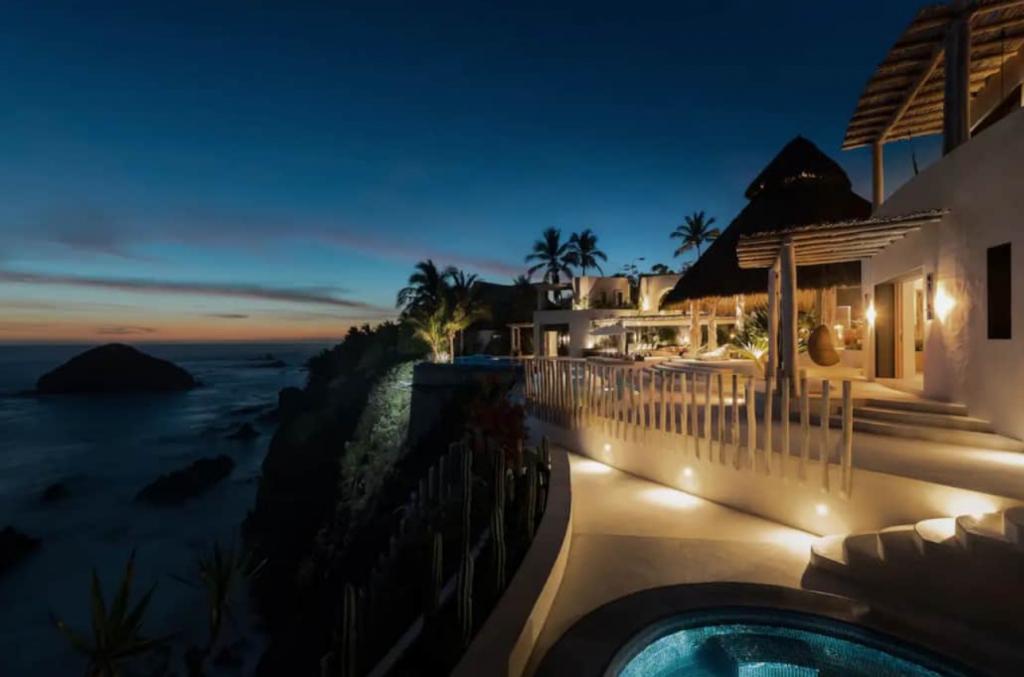 Casa Ensueno House in Careyes Mexico overlooking Pacific Ocean