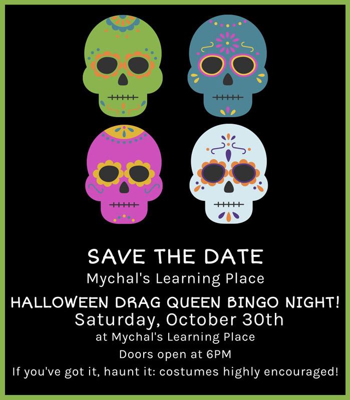 2021 Halloween Drag Queen Bingo Night